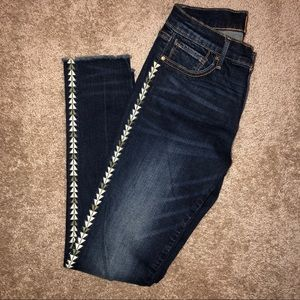 NWT Driftwood Jeans with details